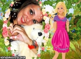 Barbie na Floresta e Animais