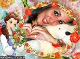Princesa Bela Buquê e Flores
