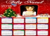 Moldura Calendário 2018 de Natal