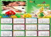 Calendário Sininho Disney 2016