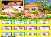 Calendário 2015 Os 3 Porquinhos