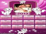 Calendário Gatinha Marie 2013