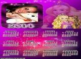 Calendário 2014 Barbie Bailarina