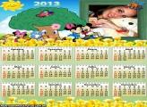 Calendário Floresta Disney 2013