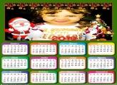 Calendário 2018 Bom Velhinho Papai Noel