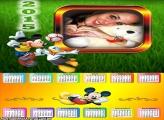 Calendário 2015 Futebol Mickey