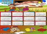 Calendário Infantil Cocoricó 2016