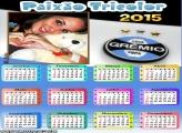 Moldura Calendário 2015 Grêmio
