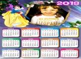 Calendário 2018 Festa Branca de Neve