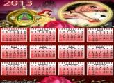 Calendário Rosas Ariel 2013