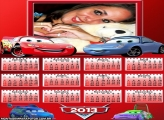 Calendário Filme Carros 2013