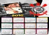 Moldura Calendário Corinthians 2016
