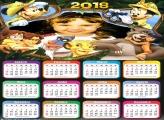 Calendário 2018 Safari Infantil