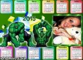 Calendário 2015  do Hulk