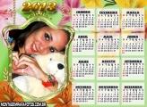 Calendário Escudo de Flores