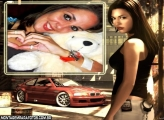 Moldura NFS Most Wanted