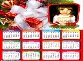 Emoldurar Calendário 2018 Presente Natal