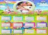 Calendário 2015 da Lilica