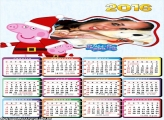 Calendário 2016 Peppa Pig Natal