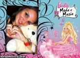 Moldura Moda Barbie