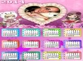 Calendário 2014 da Jolie
