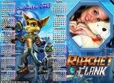 Calendário 2017 Ratchet Clank
