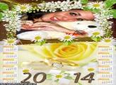 Calendário 2014 Noivado