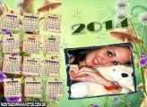 Calendário Fantasia 2014