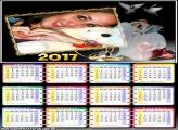 Calendário 2017 Casamento Noivos