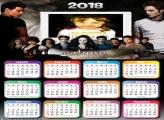 Calendário 2018 do Filme Crepúsculo