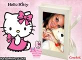 Moldura Diário Hello Kitty