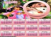 Calendário Jasmine 2013