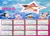 Calendário Infantil Disney Baby 2016