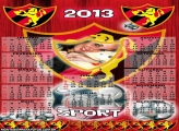 Calendário Time Sport 2013