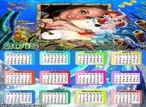 Calendário 2015 Pequena Sereia