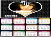 Calendário 2018 Time Santos Coração
