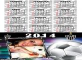 Calendário 2014 Altético Mineiro