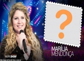 Moldura Marília Mendonça