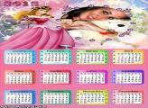 Calendário 2015 Princesa Aurora