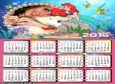 Calendario Peixes e Princesa Ariel 2016