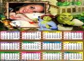 Calendário Shrek 2013