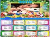 Calendário 2015 dos 7 Anões