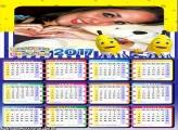 Calendário 2017 dos Bananas de Pijamas