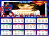 Calendário 2018 SuperMan Desenho