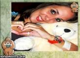 Moldura Cão Orelhudo com Osso