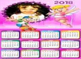 Calendário 2018 da Xuxinha Desenho