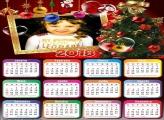 Calendário 2018 Árvore Natalina