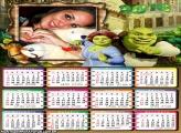 Calendário Shrek e Fiona 2016 Filme