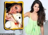 Moldura Selena Gomez