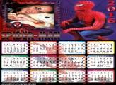 Homem Aranha Calendário 2016